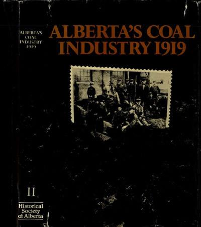ALBERTA'S COAL INDUSTRY 1919