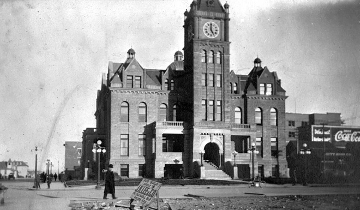 Old City Hall, Calgary, 1914